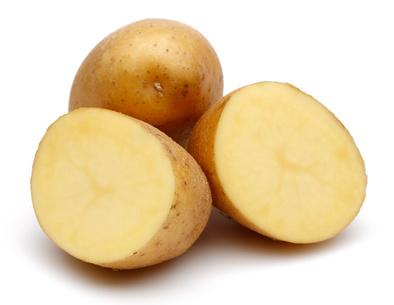 Slices potatoes