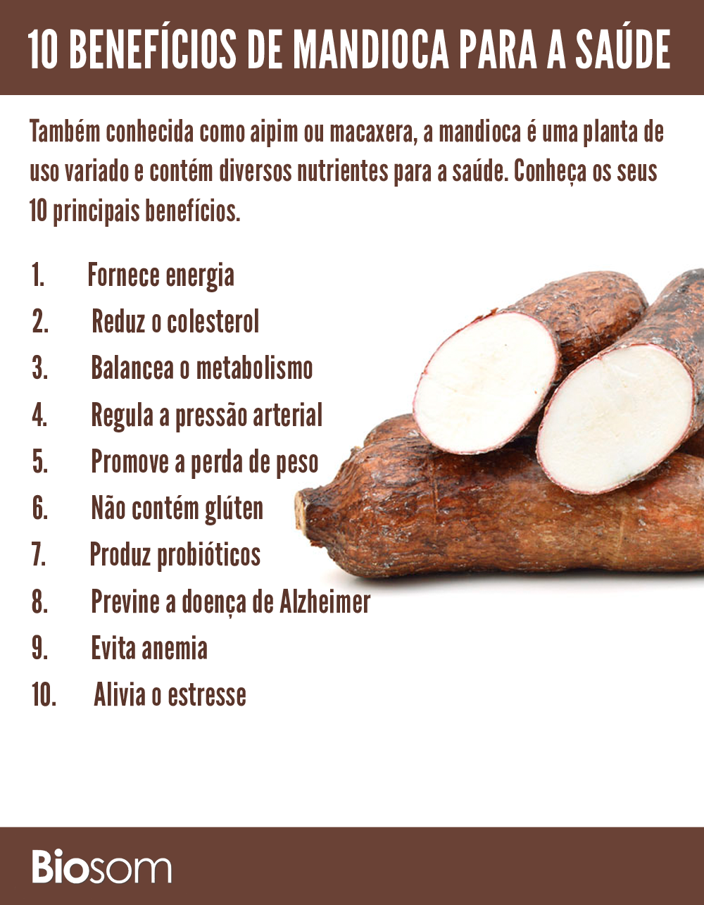 Beneficios da Mandioca 1