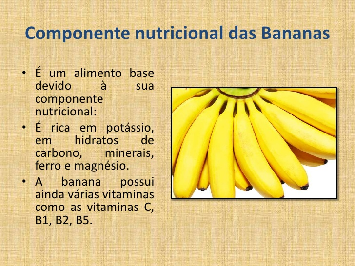 Nutrientes da Banana 6
