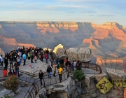 Turistas no Grand Canyon 2