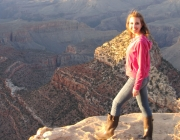 Turistas no Grand Canyon 4