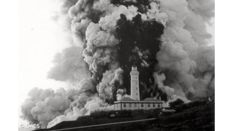 Vulcão dos Capelinhos Erupção 5
