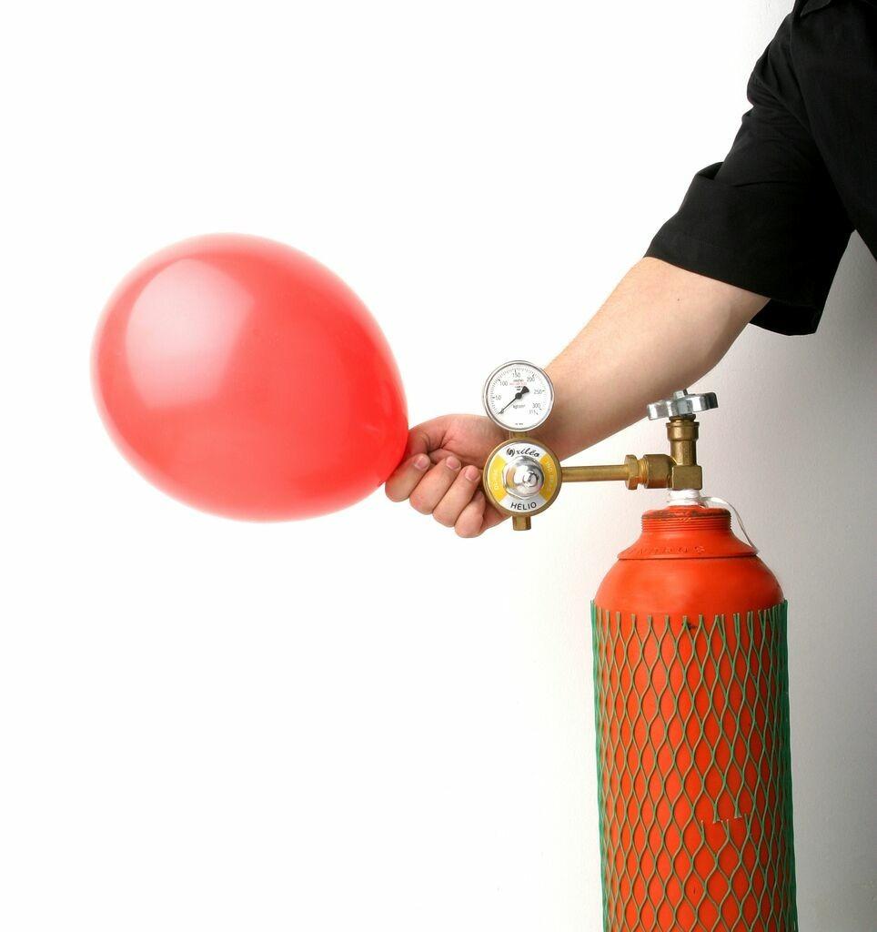 Gás Hélio - Famoso Por Encher Balões Para Festas e Eventos