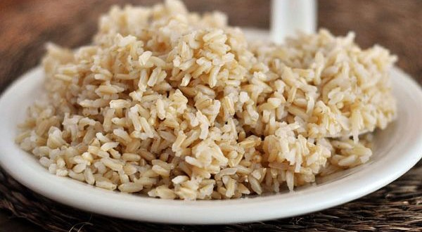 Arroz Integral no Prato