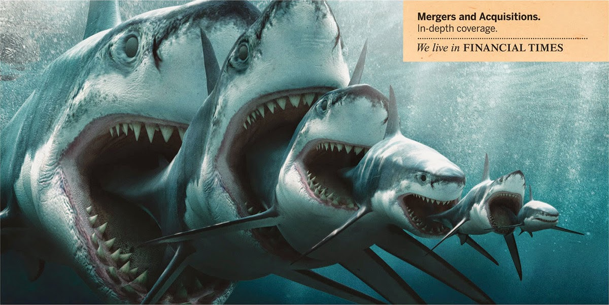 Ilustração de um Tubarão Canibal