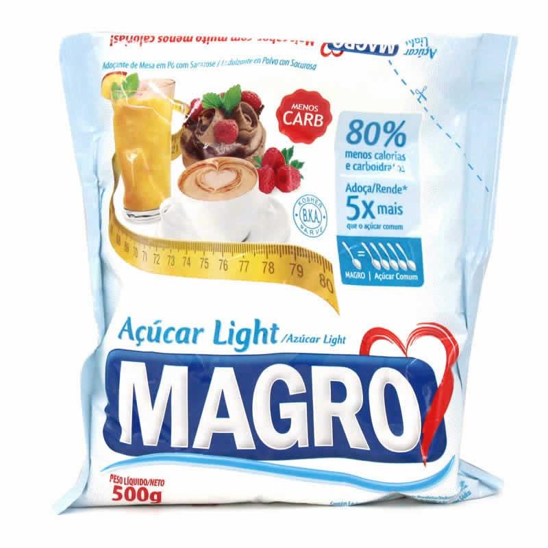 Açúcar Light da Marca Magro